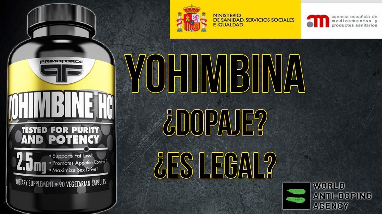 Propiedades yohimbina
