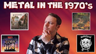 Best Metal Albums of The 1970's | History Of Metal