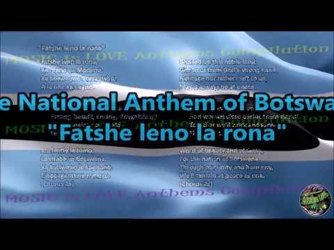 Botswana National Anthem with music, vocal and lyrics Setswana w/English Translation