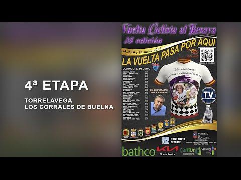 4º ETAPA - 35 VUELTA CICLISTA AL BESAYA - JUNIOR