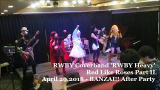 【RWBY】Time to Say Goodbye【CoverLive】Apr.29,2018
