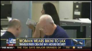 Woman Wears Bikini For TSA Patdown
