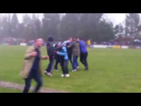 HW Welders v Ballymena United 2015 - Gary Thompson 95th minute winner