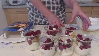 Olga kocht auf YouTube /Windbeutel Dessert #020