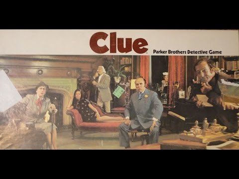 What's Inside - Clue Board Game (Parker Brothers, 1972)