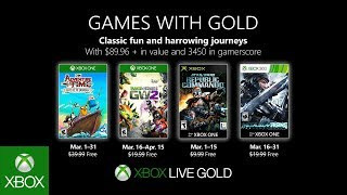Xbox - March 2019 Games with Gold