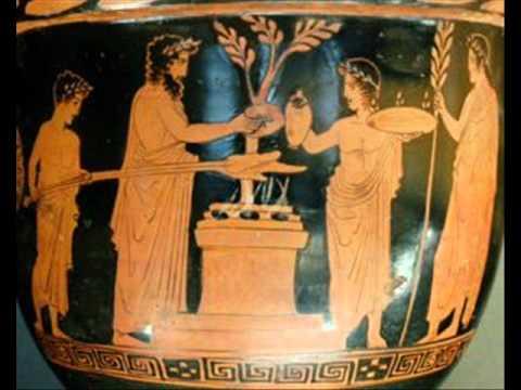 Cu les son los alimentos de la antigua grecia youtube for Costumbres de grecia