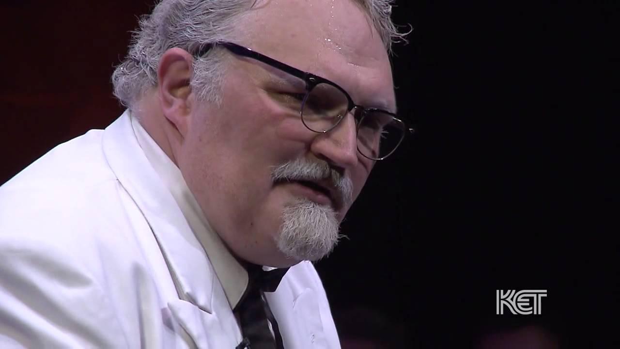 Chautauqua Actor Col Harland Sanders Kentucky Muse Ket Youtube