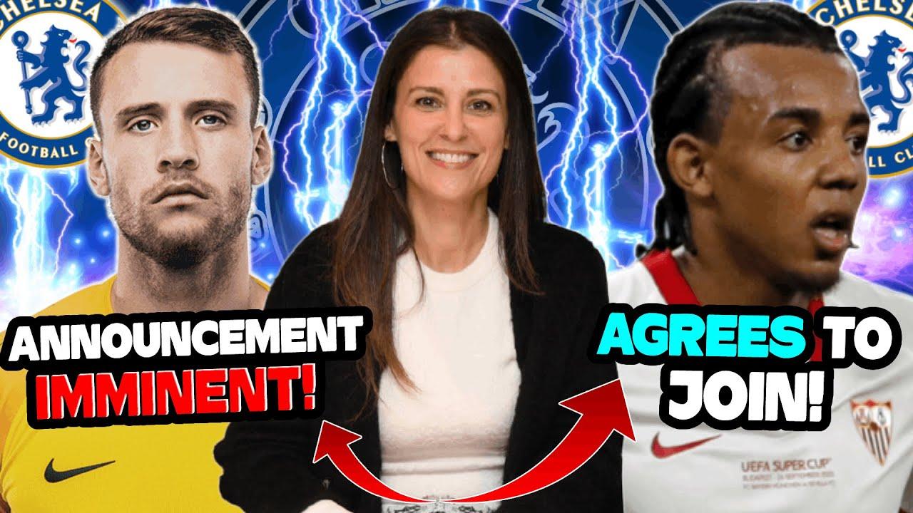 Chelsea Transfer News Update: Kounde 'AGREES' to JOIN Chelsea! Ex - England GK HAVING MEDICAL!