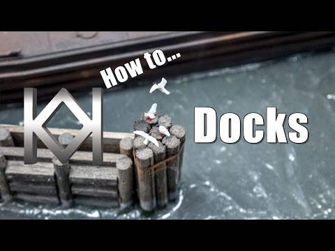 How to Model Dock Details