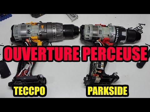 Ouverture Des Perceuses Parkside Performance Pabsp 20 Li A1