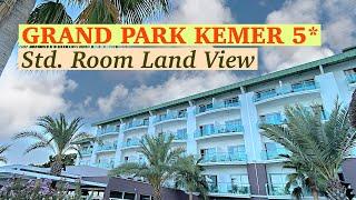 Обзор стандартного номера GRAND PARK KEMER 5 Самый простой номер отеля с видом на горы