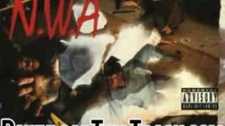nwa - one less bitch - niggaz4life