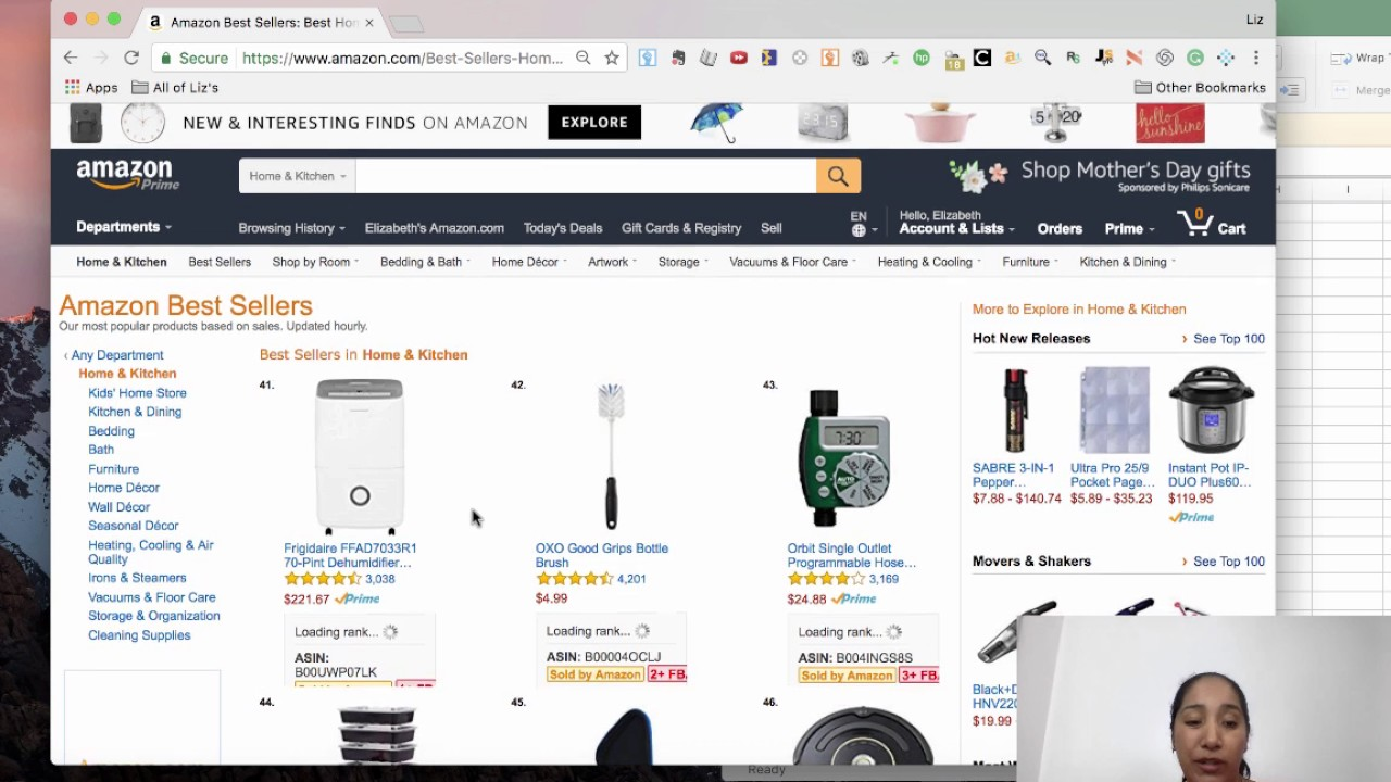 what are the top selling items on amazon