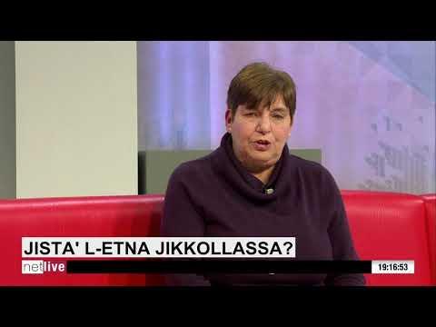 NET LIVE: L-attività siżmika tal-Etna