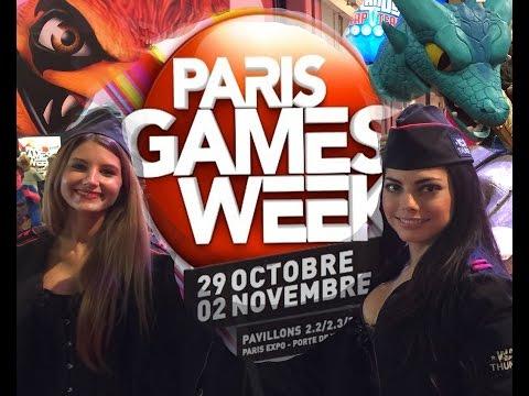 paris games week 2014 Salon du jeux vidéo