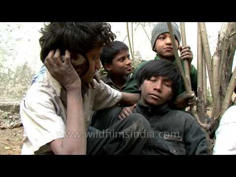 Candid moments: Delhi rag pickers