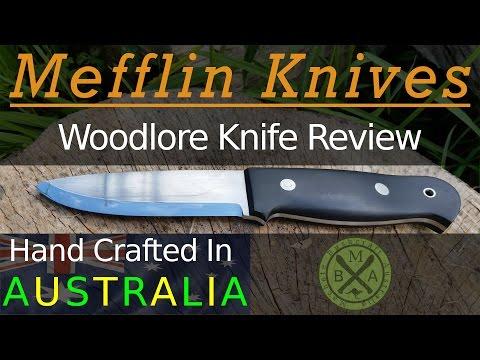 Bushcraft Knife Review: Mefflin Woodlore, A Great Australian Made Knife!