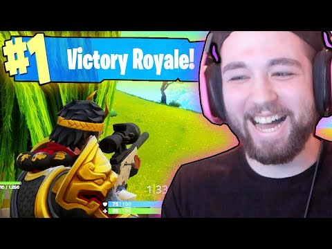 THE UNEXPECTED VICTORY (FORTNITE BATTLE ROYALE)