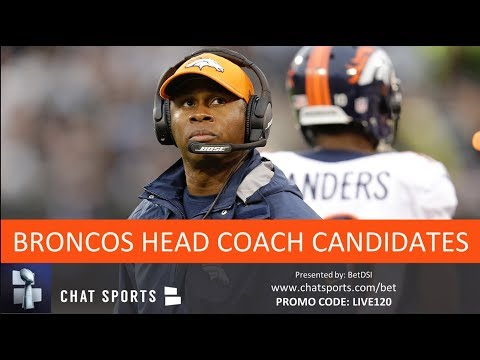 Top 10 Broncos Head Coach Candidates To Replace Vance Joseph In 2019 (If He's Fired)