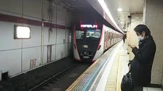 [ツイキャス] 東京都交通局5500系電車  浅草橋駅発車 (2020.12.18)