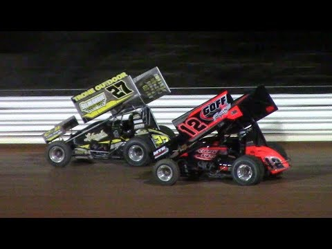 410 Sprint Car Feature | Port Royal Speedway | 4-28-18