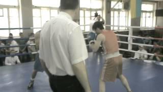 Aram Martirosyan boxing, May 2014. Round 1