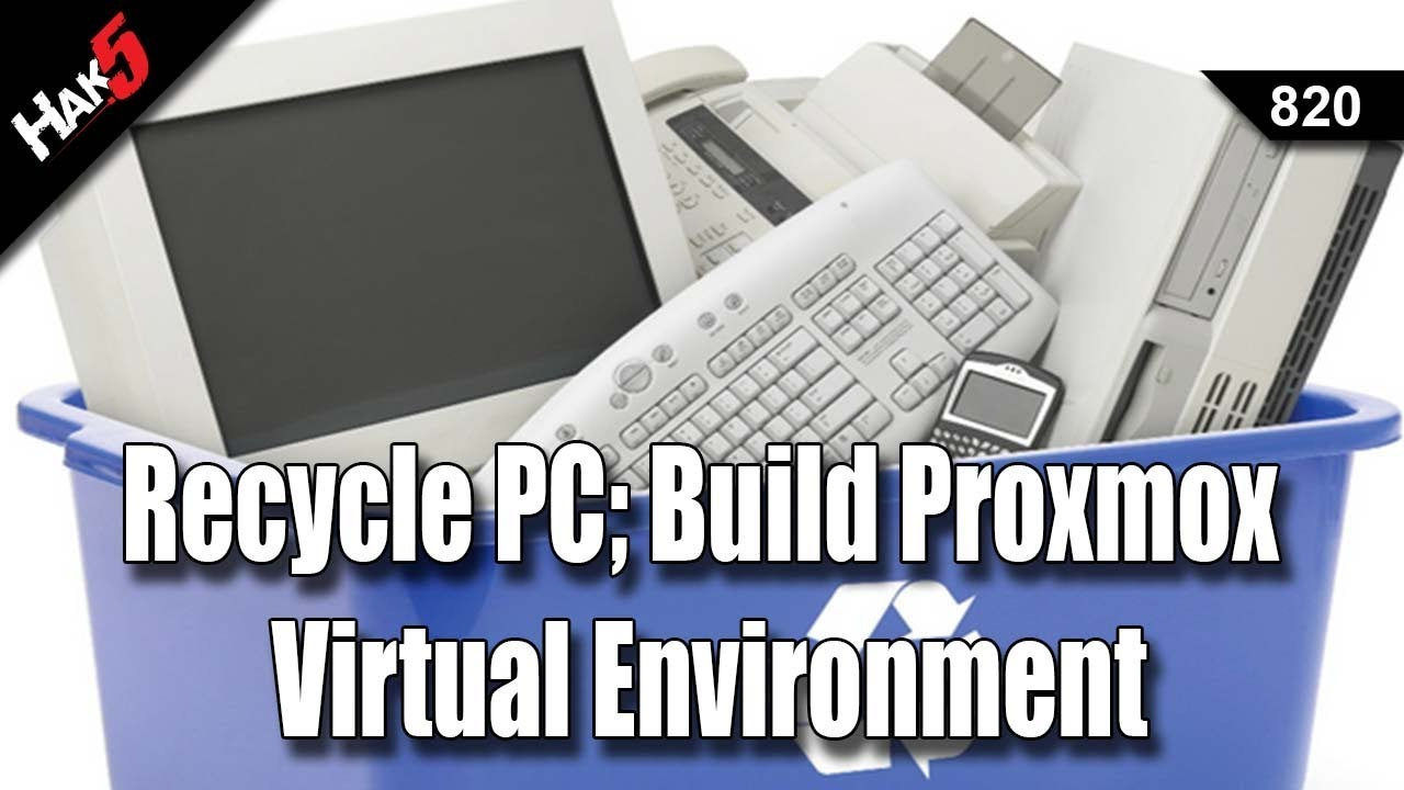 Building a Proxmox Virtual Environment with used Hardware
