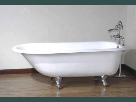 cast iron bathtub bathtubs design ideas and collection youtube. Black Bedroom Furniture Sets. Home Design Ideas