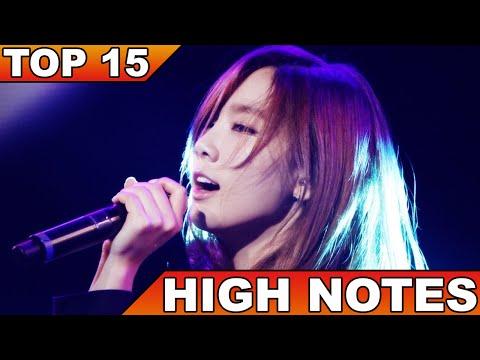 [TOP 15] BEST K-POP HIGH NOTES & LIVE PERFORMANCES (FEMALE VERSION)