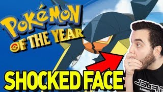 These Votes will SHOCK YOU! Pokemon of the Year!