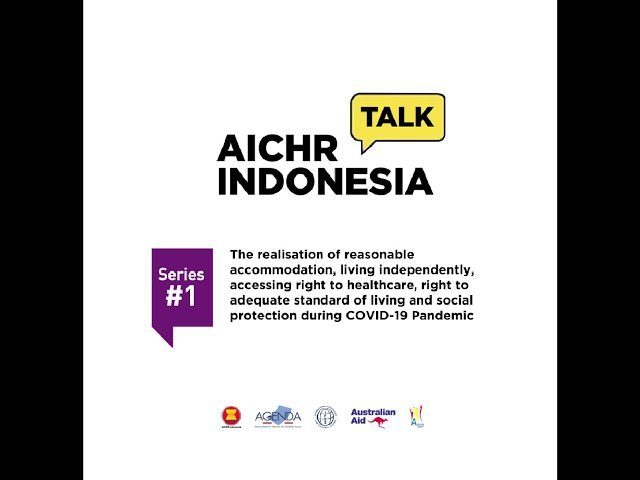 Quotes from AICHR/AGENDA/ADF First Webinar on Disability Rights in ASEAN
