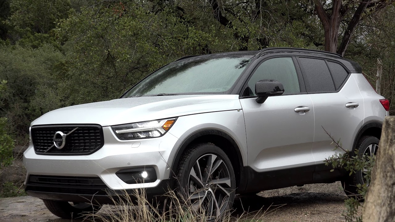 volvo xc40 2019 first drive with steve hammes. Black Bedroom Furniture Sets. Home Design Ideas