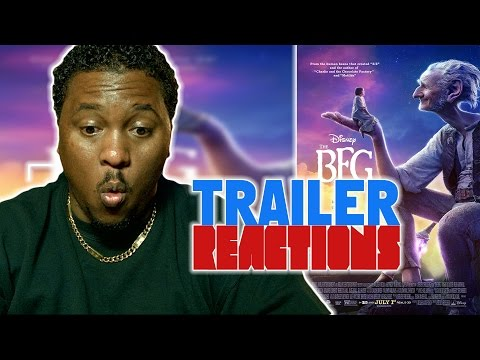 The BFG Official Trailer #2 (2016) - Trailer Reaction