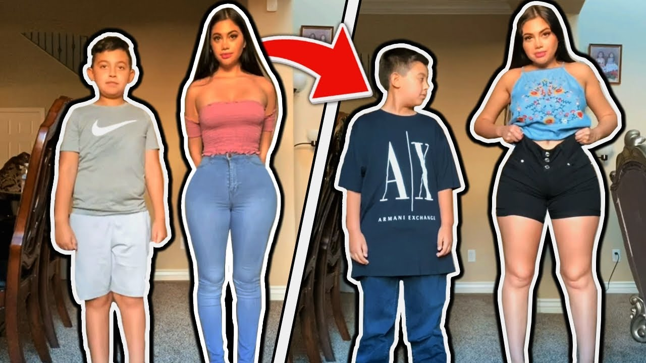 I asked my little brother this... 😱😂 -Jailyne Ojeda