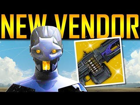 Destiny 2 - NEW VENDOR! Thunderlord Returns! DLC Exotic!