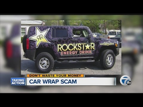 Can you earn money by wrapping your car?