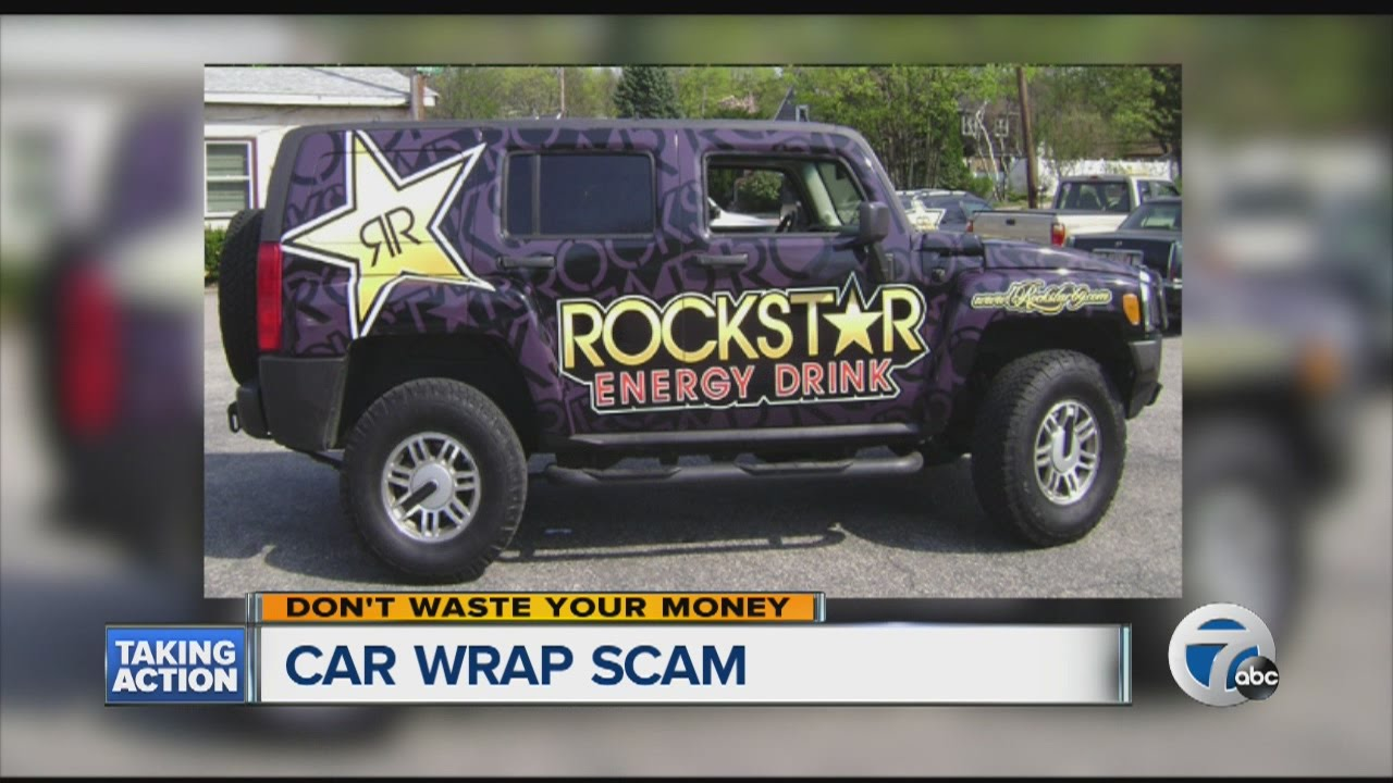 Can you earn money by wrapping your car? - YouTube