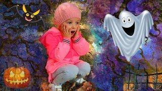 Девочка потерялась в лесу с привидениями | Видео для детей