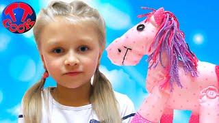 Как сделать Лошадку и Сумку Своими Руками Набор для Творчества Видео для детей