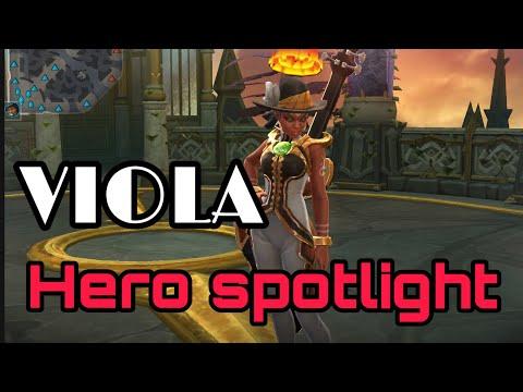 Vainglory 4.8 Viola Low Budget Hero Spotlight