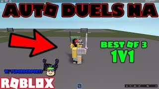 ROBLOX | AUTO DUELS NA: 1V1 W/ superderper33 (BEST OF 3)