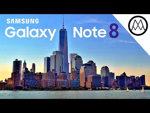 Samsung Galaxy Note 8 EXTREME Camera Test.