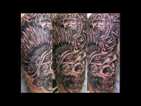 imágenes de tatuajes aztecas
