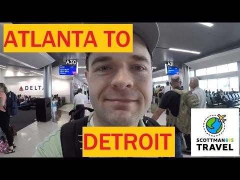 Navigating Hartsfield-Jackson Airport And Trip Reflections   Flight From Atlanta To Detroit