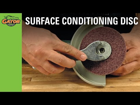 How to Install a Surface Conditioning Disc