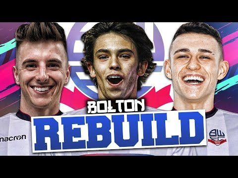 REBUILDING BOLTON WANDERERS!!! FIFA 19 Career Mode