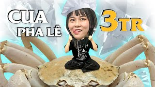 Misthy first eats Crystal Crab 3 million and 15 kinds of sauces || FOOD CHALLENGE