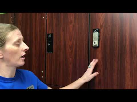 Keyless Entry Locker Instructional Video
