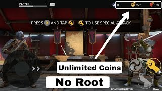 How To Hack Unlimited Coins/money In Shadow Fight 3 || Android Office